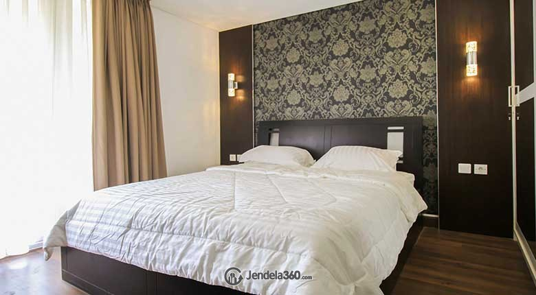 Bedroom Apartemen The Royale SpringHill Residence