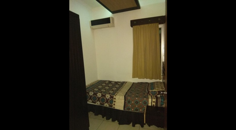 Bedroom Sudirman Park Apartment Apartment
