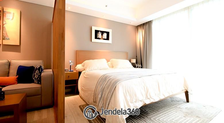 Bedroom Kemang Village Apartment Studio Fully Furnished Apartment