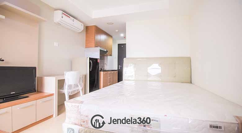 Bedroom Belmont Residence Studio Fully Furnished Apartment