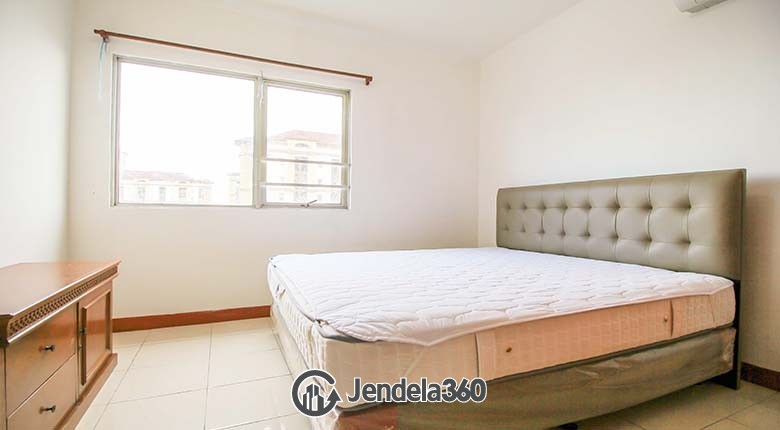 Bedroom Mediterania Boulevard Kemayoran 2 BR View City View Apartment