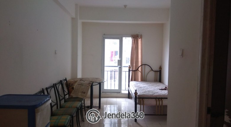 Bedroom Puri Park View Apartment Studio Non Furnished