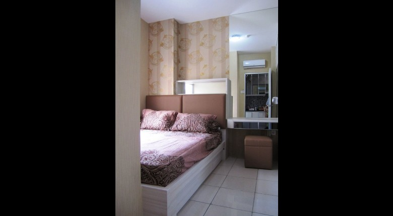Bedroom Green Bay Pluit Apartment 2BR Tower Borneo