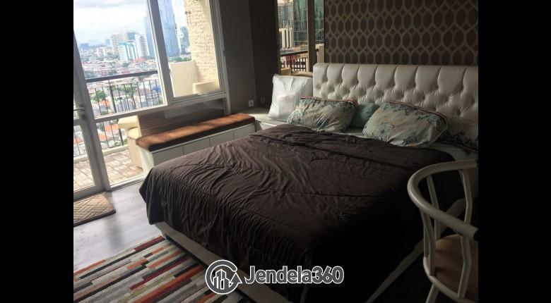 Bedroom Apartemen Ambassade Residences Studio View City (Barat)