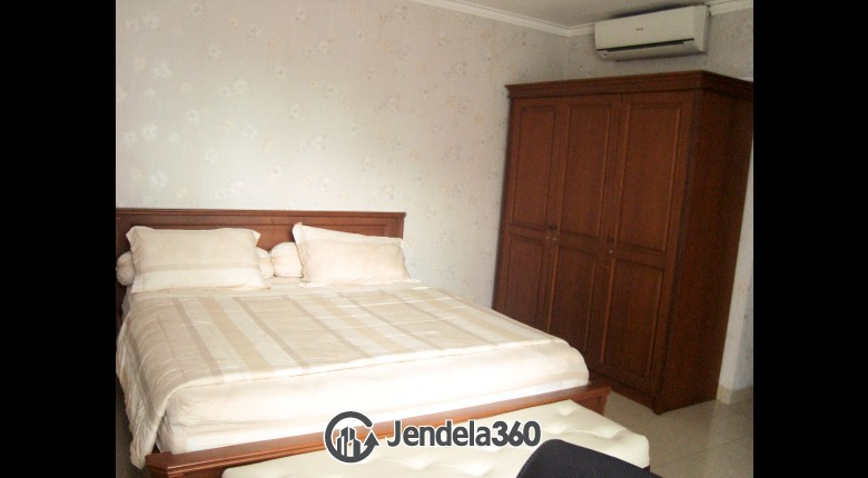 Bedroom Aston Rasuna Apartment 3BR Fully Furnished