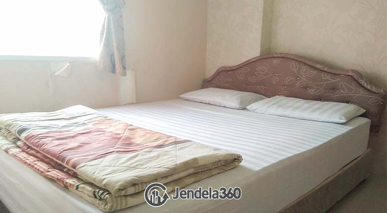 Bedroom Green Pramuka City Apartment 2BR Fully Furnished