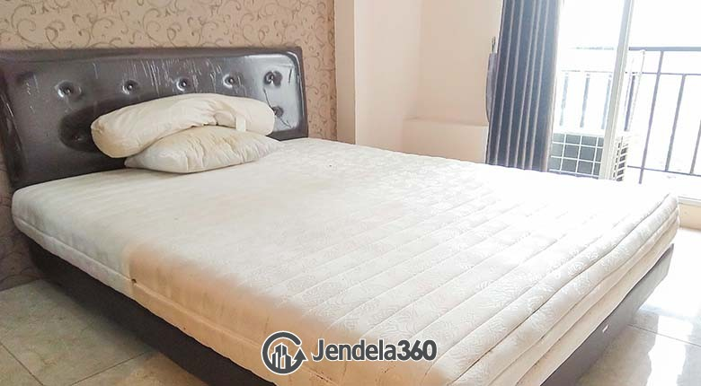 Bedroom Puri Park View Apartment Studio Fully Furnished Apartment