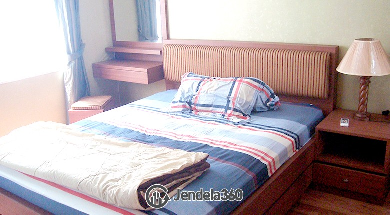 Bedroom Sudirman Park Apartment 2BR Fully Furnished