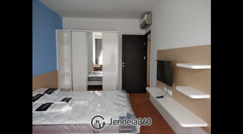 Bedroom Apartemen Cosmo Mansion - Thamrin City 2BR View City
