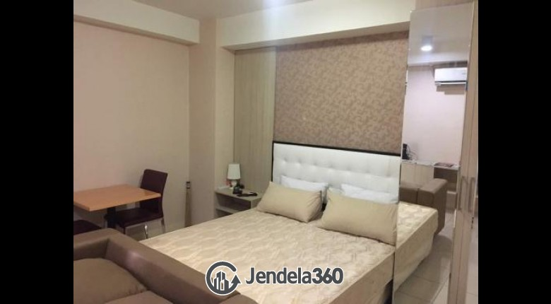 Bedroom Pakubuwono Terrace Studio Fully Furnished Apartment