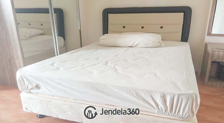 Bedroom Apartemen Kebagusan City Apartment Studio Fully Furnished
