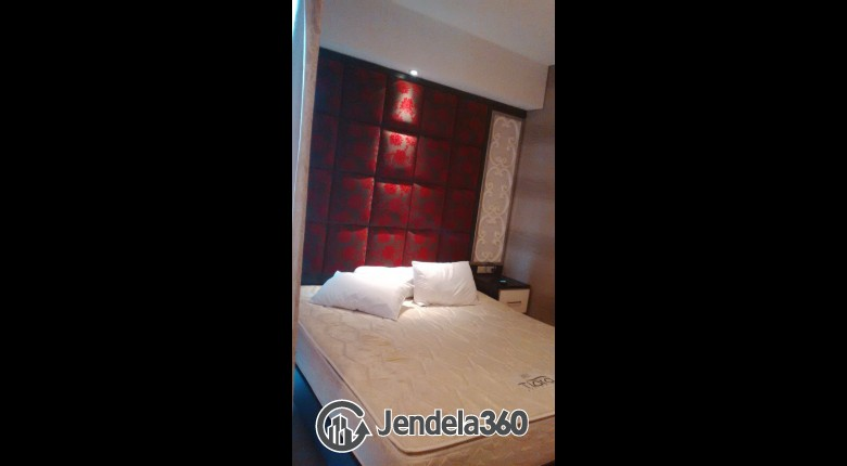 Bedroom Cosmo Terrace - Thamrin City 1BR Fully Furnished