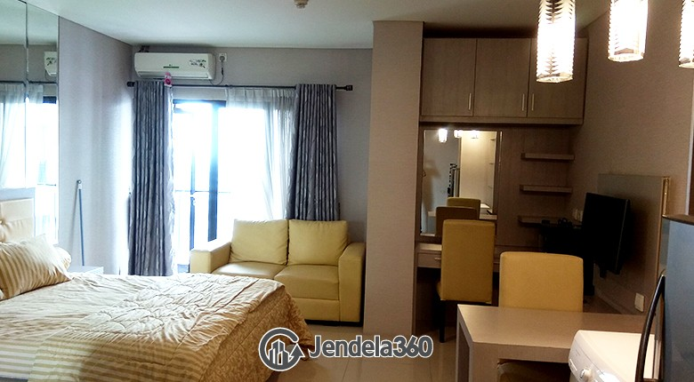 Bedroom Taman Sari Semanggi Apartment Studio Fully Furnished Apartment