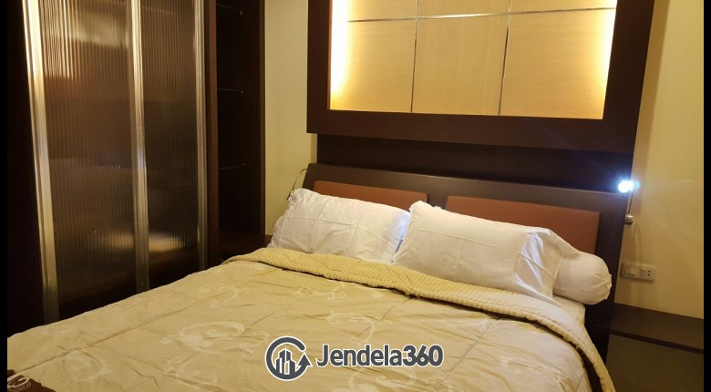 Bedroom Apartemen Cosmo Mansion - Thamrin City 1BR View City