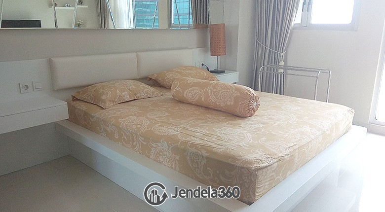 Bedroom Apartemen Kemang Village Apartment Studio Fully Furnished