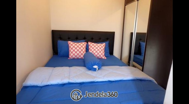 Bedroom Apartemen Bintaro Park View 2BR Fully Furnished