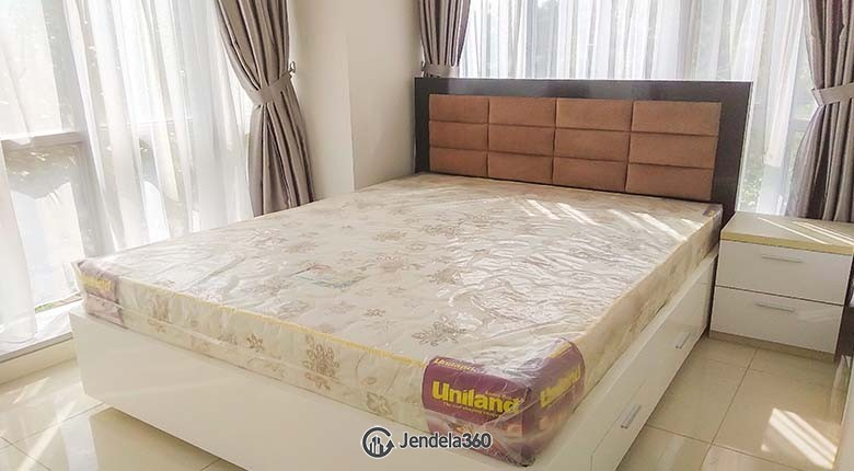Bedroom Apartemen The Mansion Kemayoran Bougenville 1BR Fully Furnished