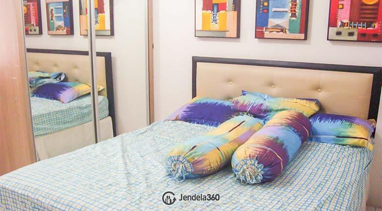 Bedroom Kebagusan City Apartment Studio View City