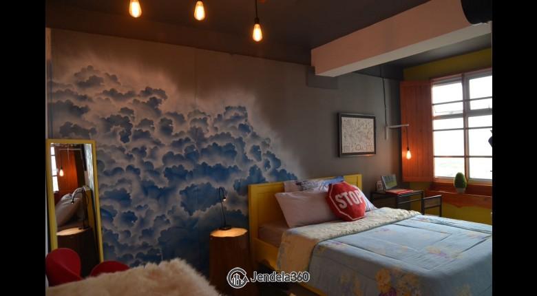 Bedroom Pancoran Riverside Apartment Studio Tower 3 Apartment