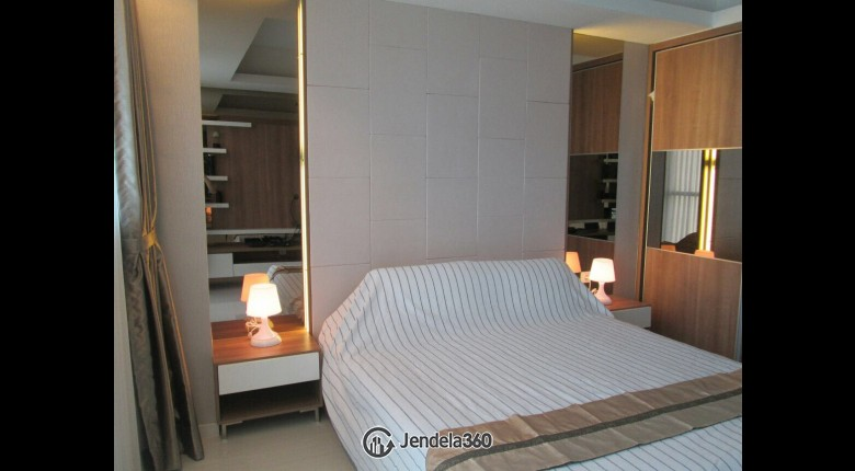 Bedroom Kemang Village Apartment Studio Fully Furnished Apartment