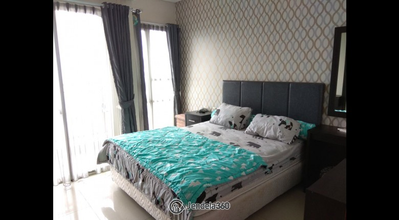 Bedroom Thamrin Residence Apartment 1BR Fully Furnished Apartment