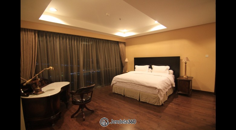 Bedroom The Mansion Kemang 3BR View City Apartment