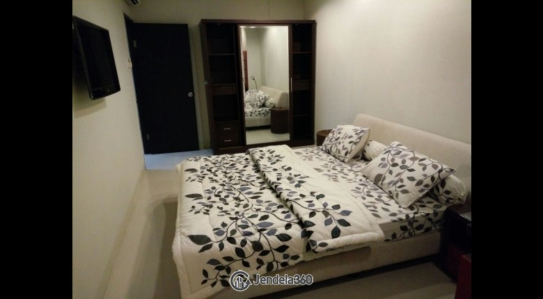 Bedroom Cosmo Mansion - Thamrin City 2BR View city and pool