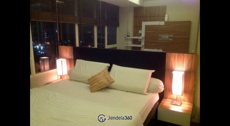 Bedroom Apartemen Niffaro Park Apartment 2BR Fully Furnished