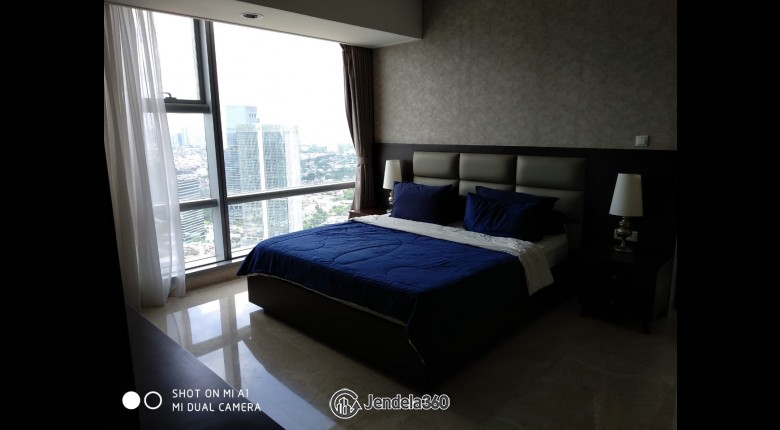bedroom Ascott Kuningan Jakarta 2BR Fully Furnished Apartment