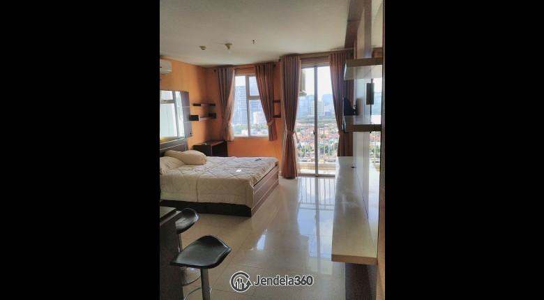 bedroom Apartemen Lavande Residence Studio View City