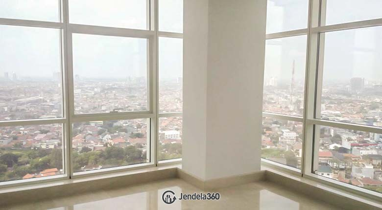 bedroom Apartemen Oakwood Suites La Maison 3BR Non Furnished