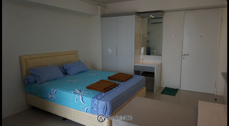 bedroom Bassura City Apartment Studio Fully Furnished