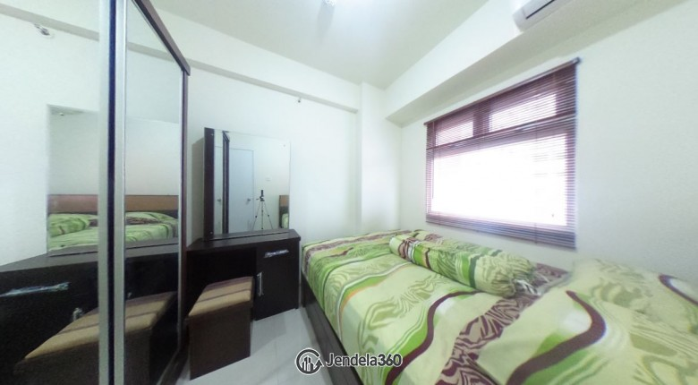 bedroom Green Pramuka City Apartment 2BR Fully Furnished Apartment