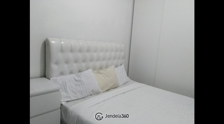 bedroom Sudirman Park Apartment 2BR Fully Furnished Apartment