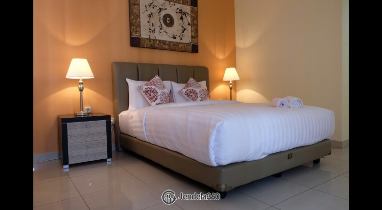 bedroom Taman Rasuna Apartment 3BR Fully Furnished Apartment