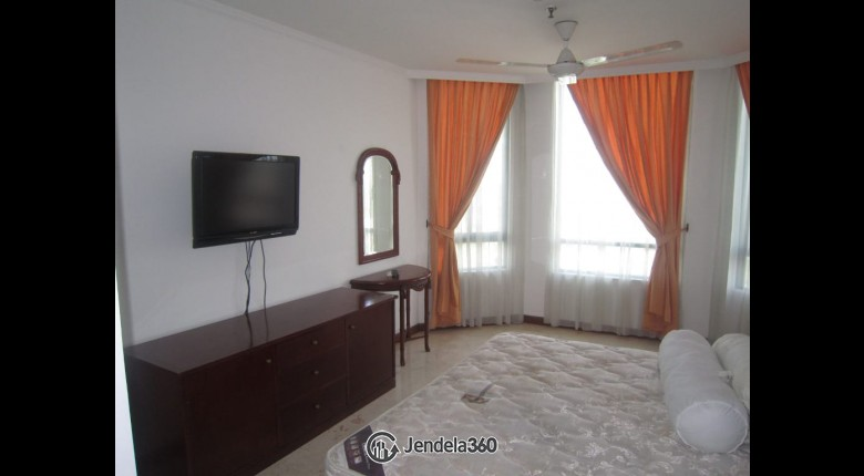 bedroom Permata Gandaria Apartment 2BR View City Apartment