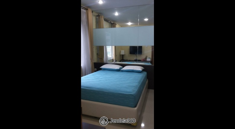 bedroom Thamrin Residence Apartment 1BR View City Apartment