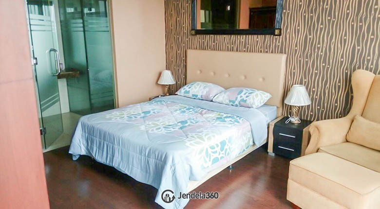 bedroom Apartemen The Mansion Kemang