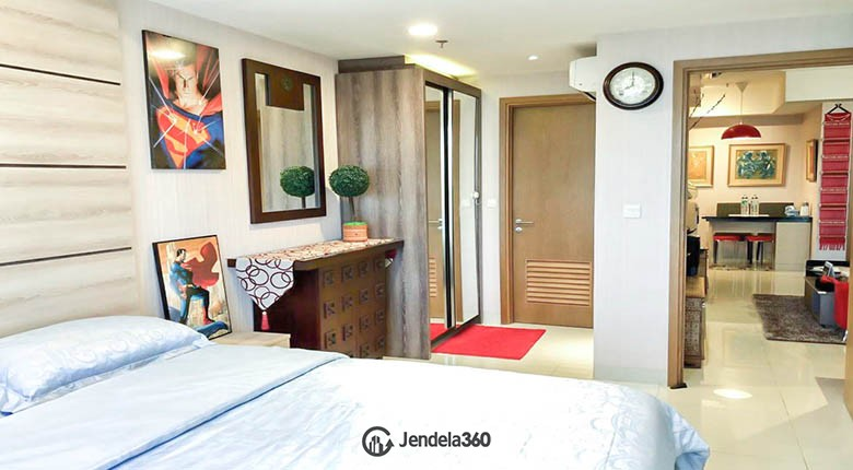 bedroom The Mansion Kemayoran Jasmine