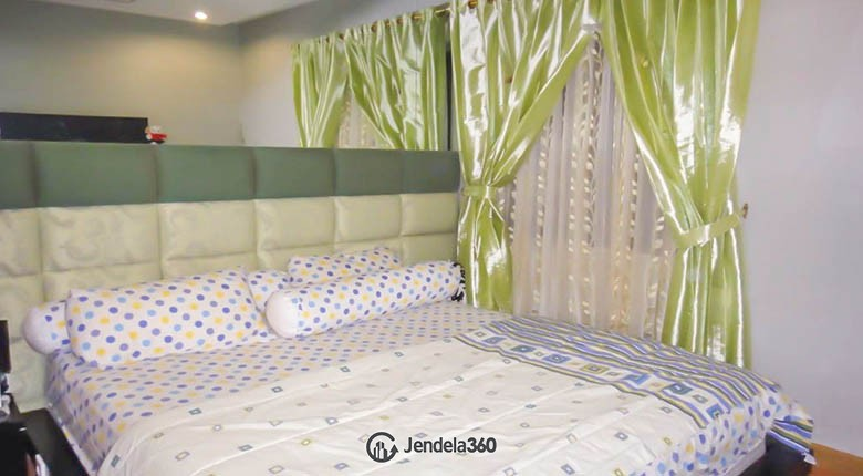 bedroom Apartemen Mediterania Marina Ancol Apartment