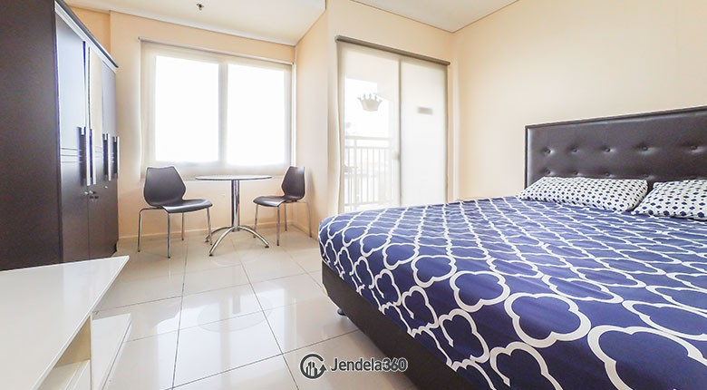 bedroom Cosmo Terrace - Thamrin City Apartment