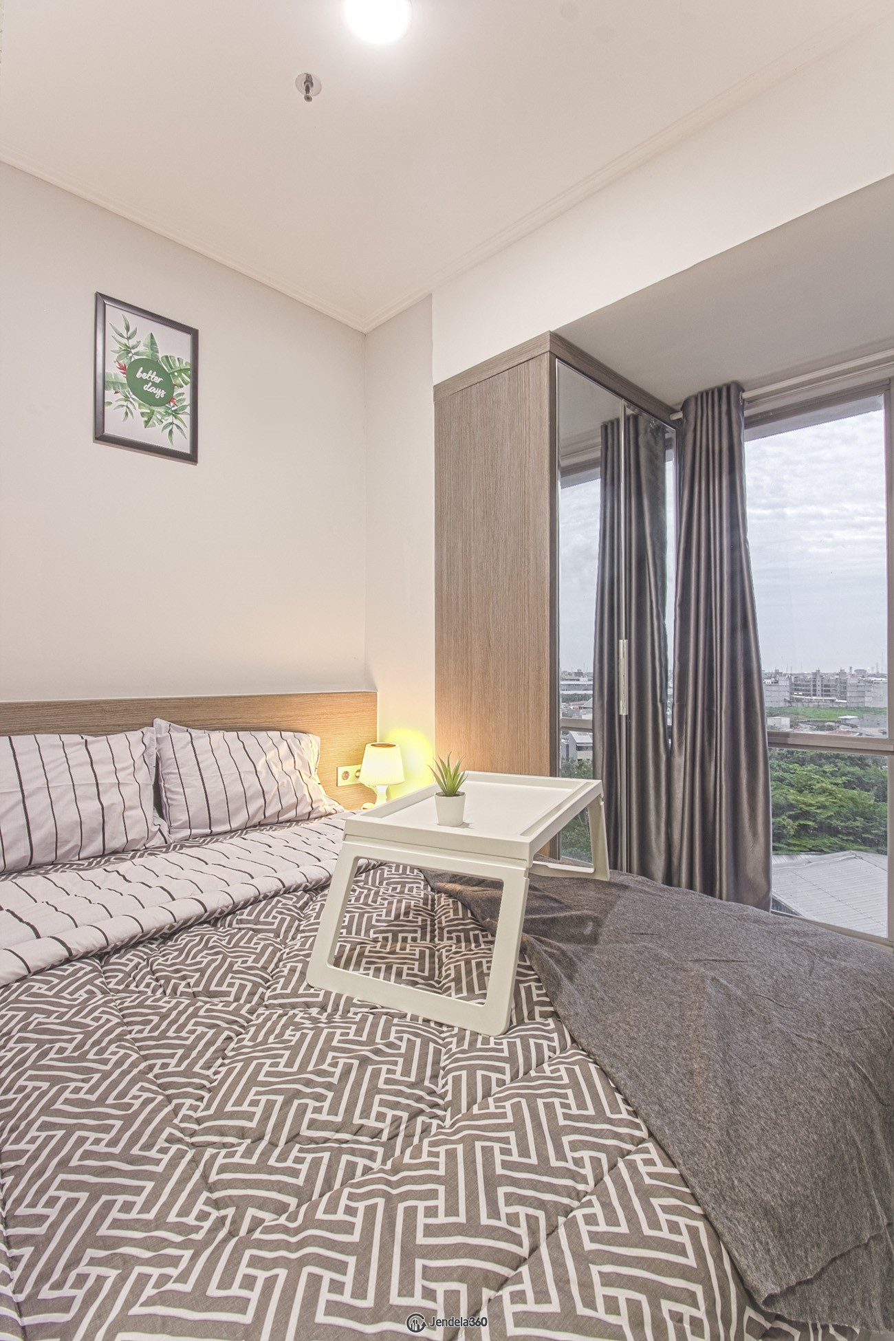 bedroom Apartemen The Mansion Kemayoran Bougenville