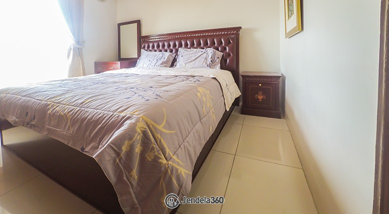 Bedroom Cosmo Mansion - Thamrin City Apartment