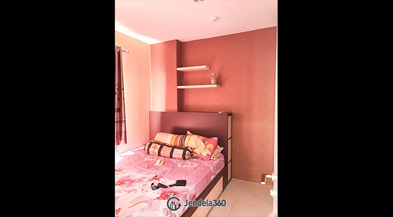 Bedroom Green Pramuka City Apartment Apartment