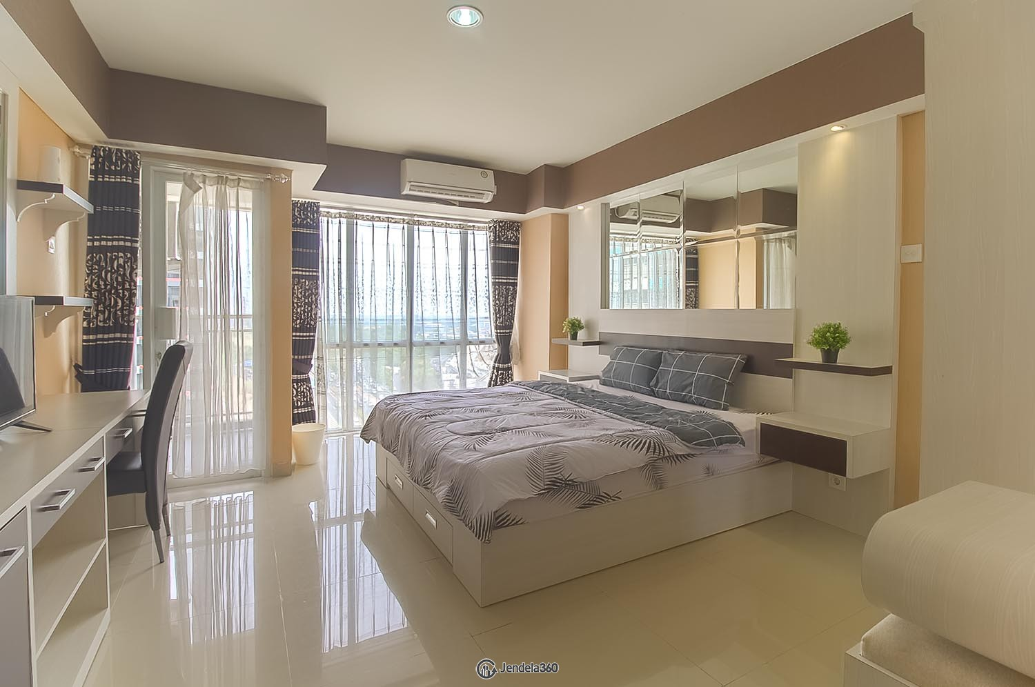 Bedroom Apartemen The H Residence