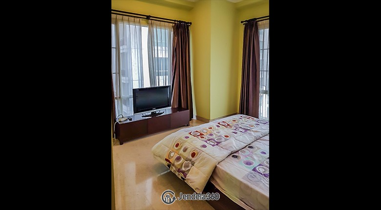 Bedroom Senayan Residence Apartment
