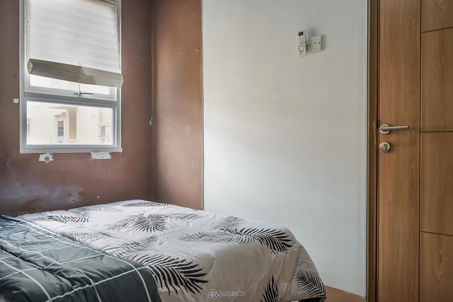 Bedroom Green Palm Residence Apartment