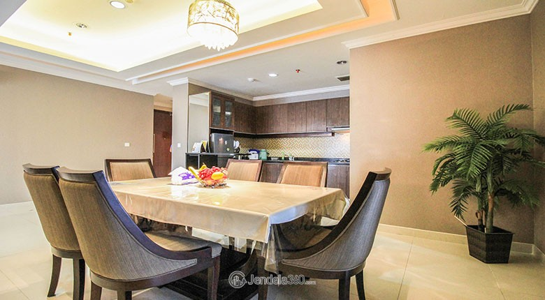 kuningan city - denpasar residence apartment for rent