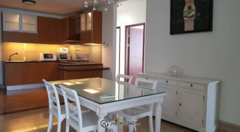 Dining Room Apartemen The Capital Residences