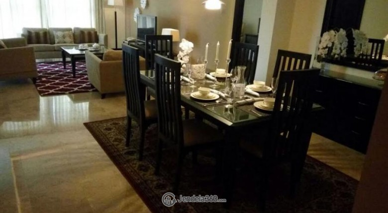 Dining Room Pondok Indah Golf Apartment